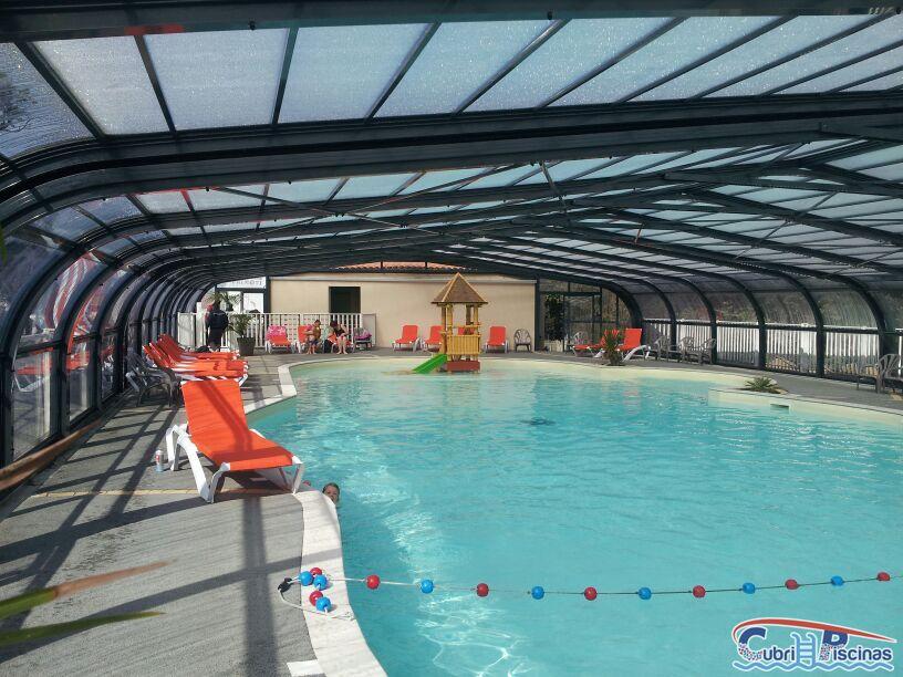 Cubripiscinas cubiertas fijas grandes cubiertas para piscina - Piscinas altas ...