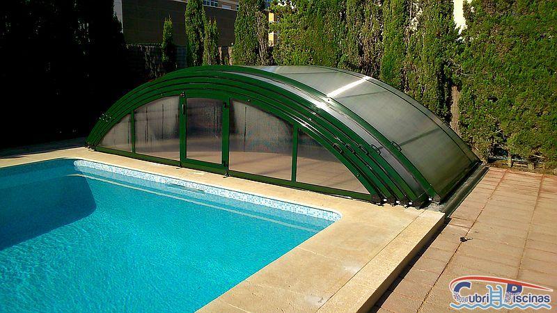 Cubripiscinas proyecto de cubierta para piscina baja for Proyecto de piscina